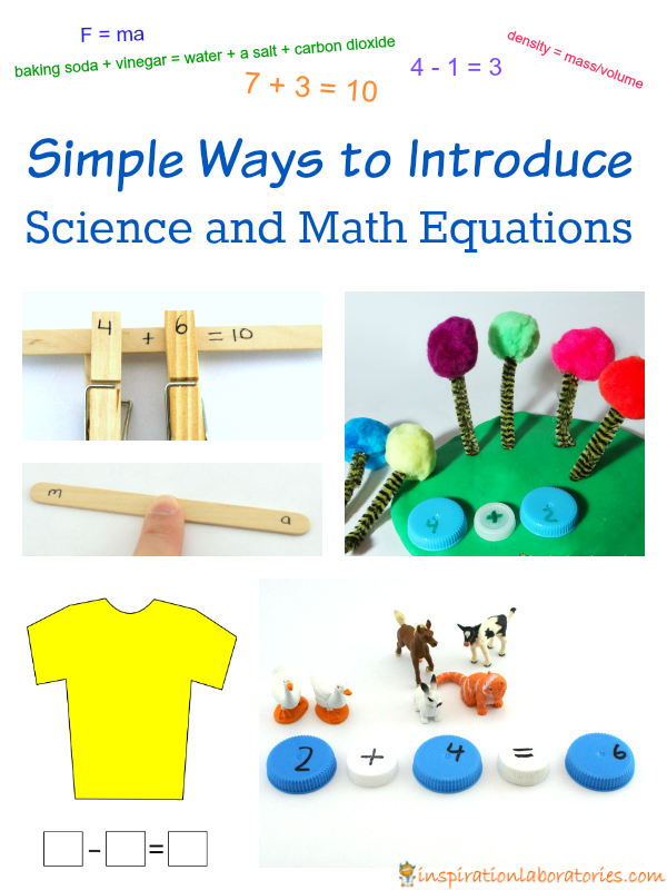 Simple Ways to Introduce Science and Math Equations
