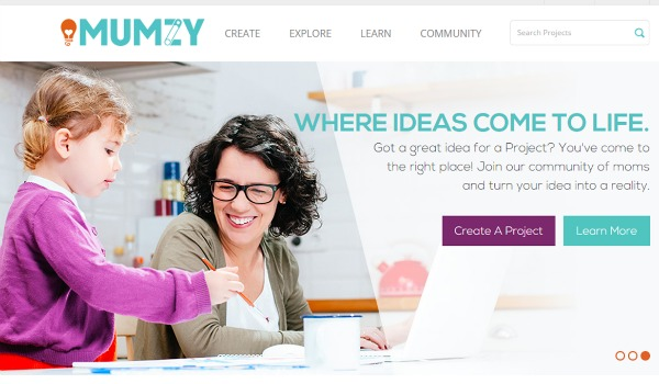 MUMZY - Where Ideas Come to Life - Join the community of moms and turn your idea into reality.