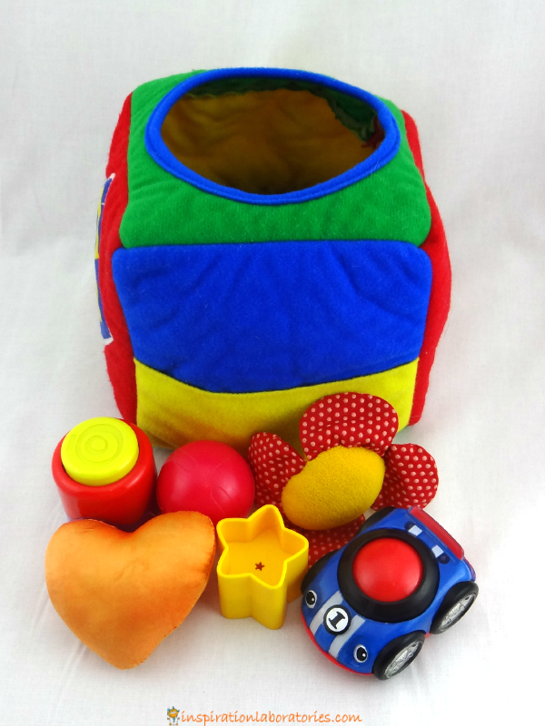 Discovery Box for Babies - simple sensory play and learning game