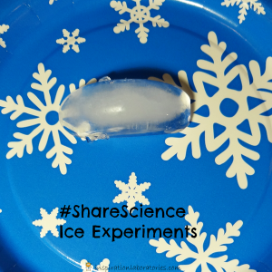 #ShareScience ice experiments