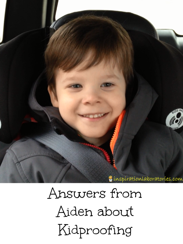 Aiden answers questions about kidproofing.