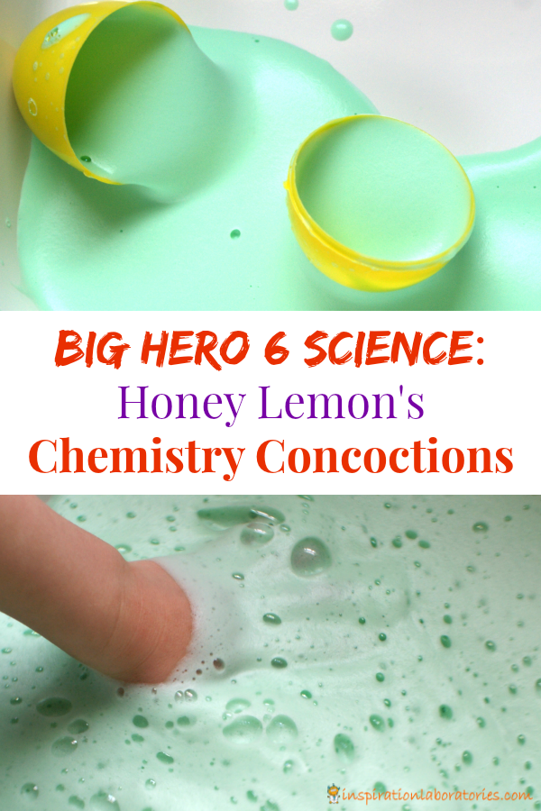 Honey Lemon's Chemistry Concoctions from Big Hero 6 sponsored by Disney. #BigHero6Release