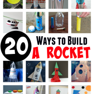 20 Ways to Build a Rocket: Experiments and Crafts