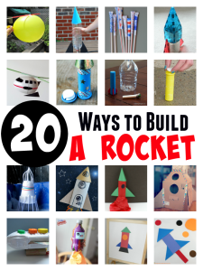 20 Ways to Build a Rocket: Experiments and Craft Ideas for Kids