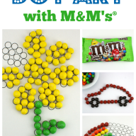 Dot Art with M&M's® Crispy