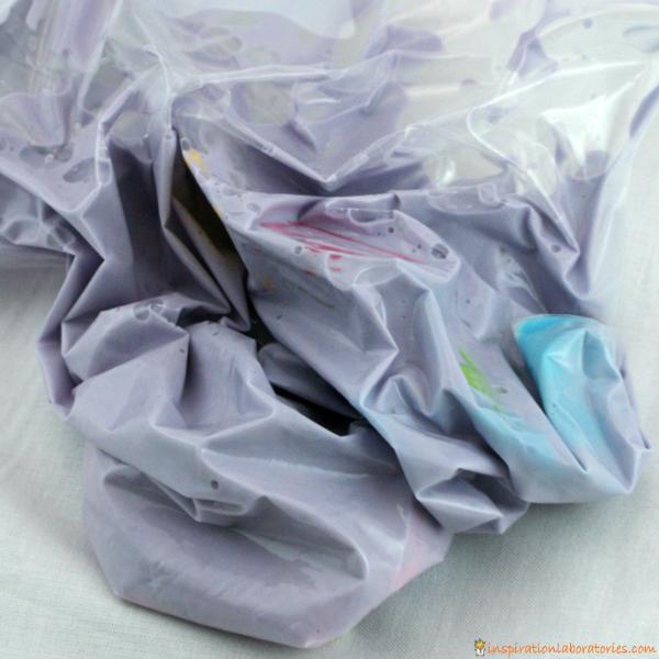 oobleck sensory bag