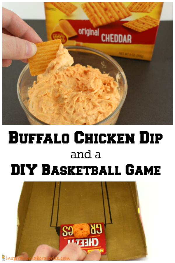 Buffalo Chicken Dip Recipe and a DIY Basketball Game