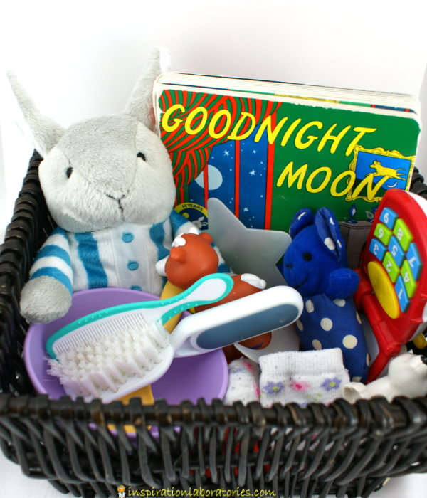Goodnight Moon Storytelling Basket