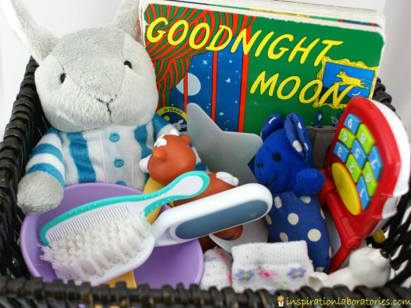Goodnight Moon Storytelling Basket