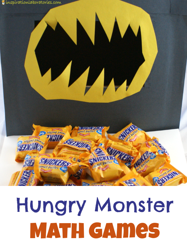 Hungry Monster Math Games sponsored by Snickers