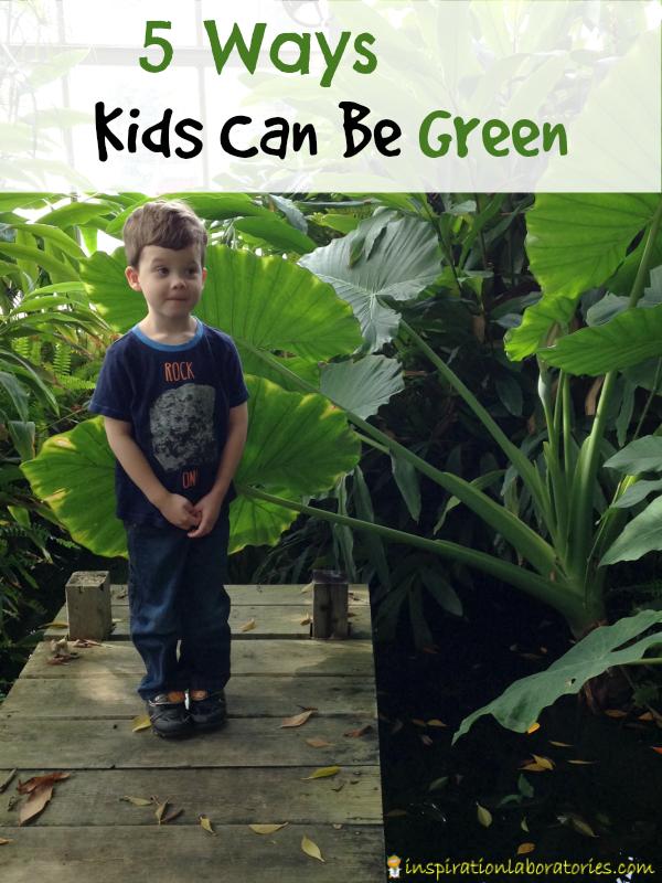 5 Ways Kids Can Be Green sponsored by Energizer #BringingInnovation