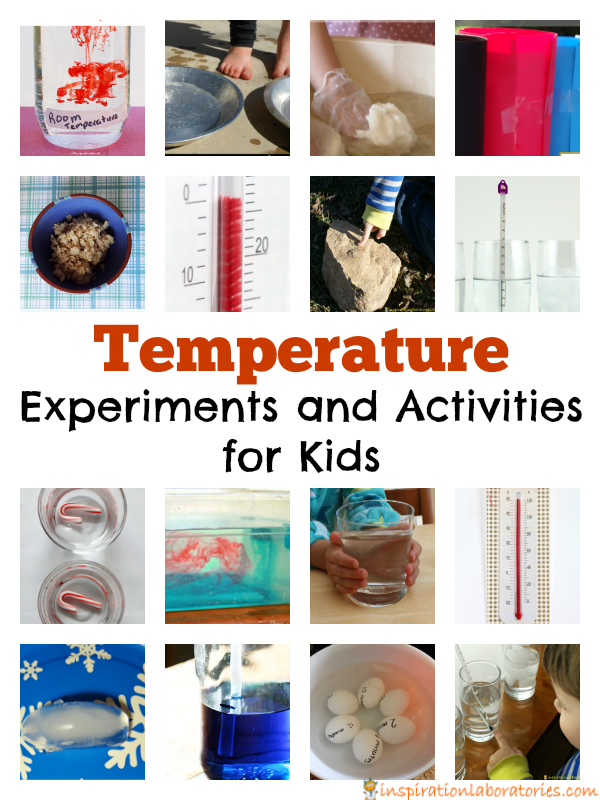 Temperature Experiments and Activities for Kids