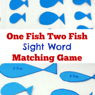 One Fish Two Fish Sight Word Game