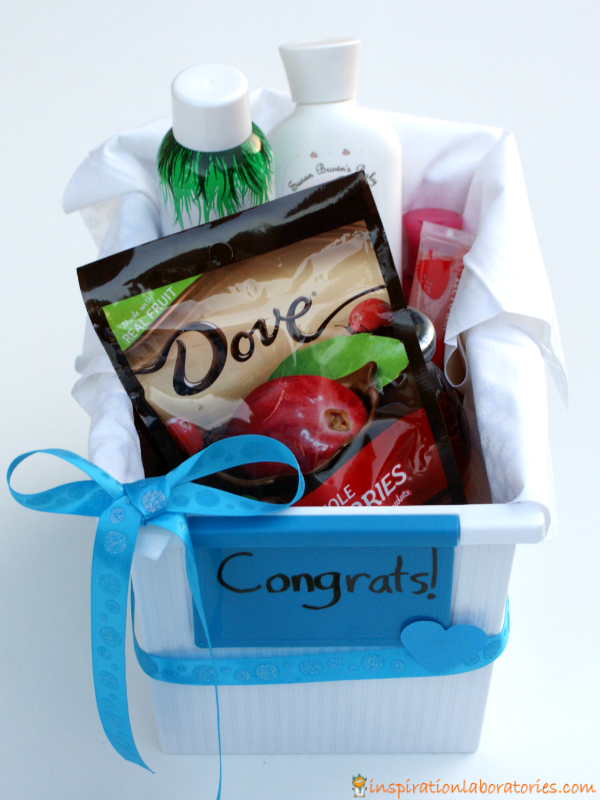 Hospital Gifts for New Moms sponsored by #LoveDoveFruits