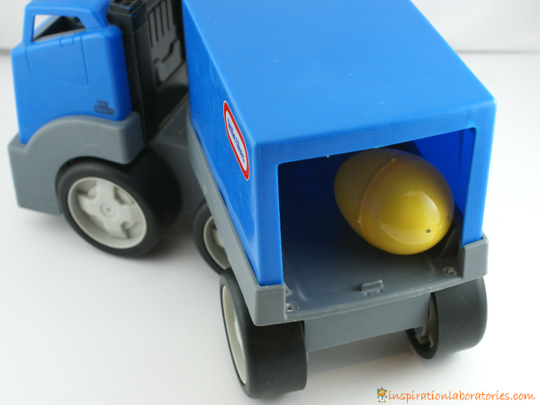 truck and egg
