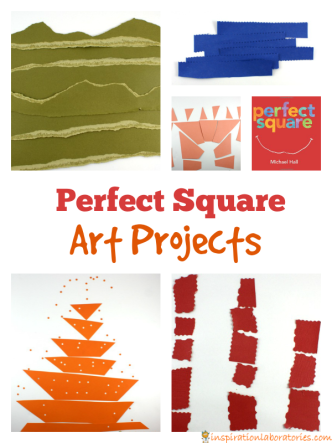 Perfect Square art projects for kids