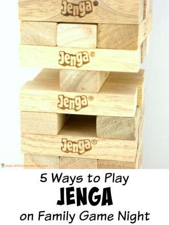 5 Ways to Play Jenga