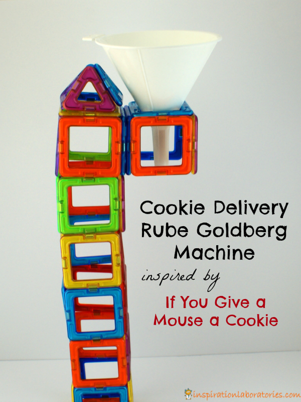 Cookie Delivery Rube Goldberg Machine inspired by If You Give a Mouse a Cookie