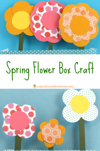 Spring Flower Box Craft
