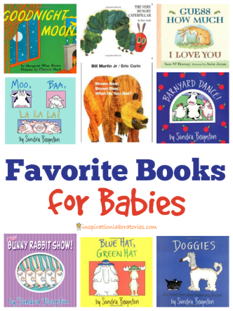 Recommendations for the best books for babies
