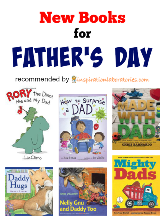 New Dad Books 2015 - they make perfect Father's Day gifts