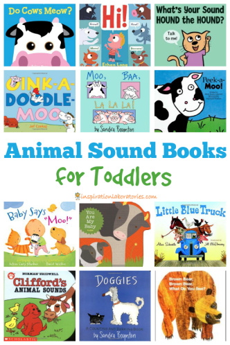 Animal Sound Books for Toddlers