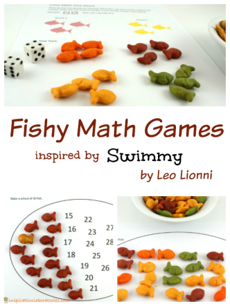 Fishy Math Games Inspired by Swimmy by Leo Lionni