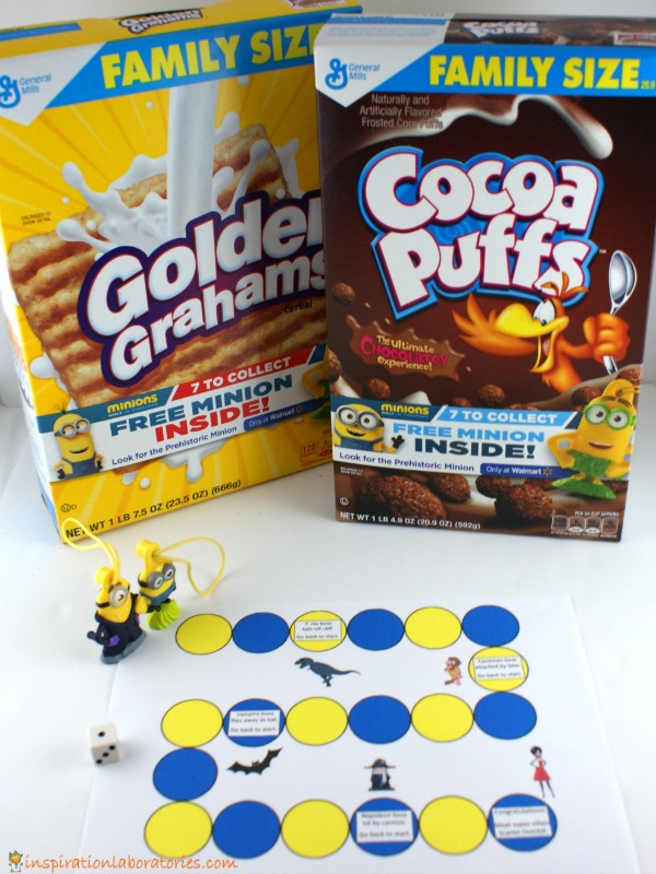 Minions Math Game sponsored by General Mills and Walmart