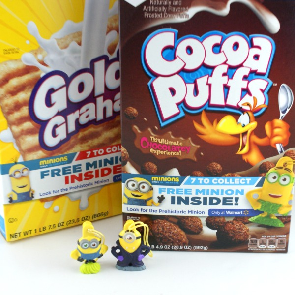 Find #The7thMinion in specially marked boxes of General Mills cereal only at Walmart