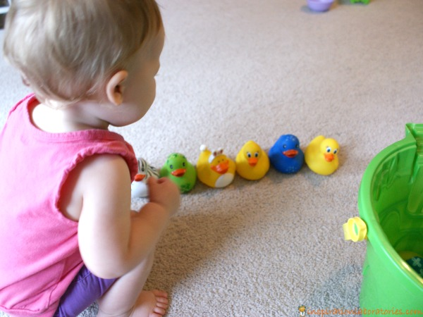 Counting ducks toddler game
