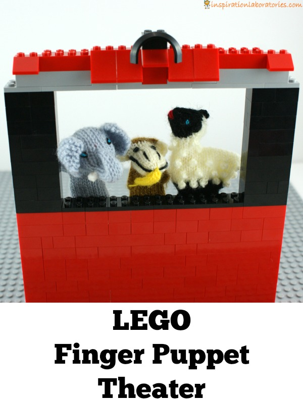 LEGO Finger Puppet Theater