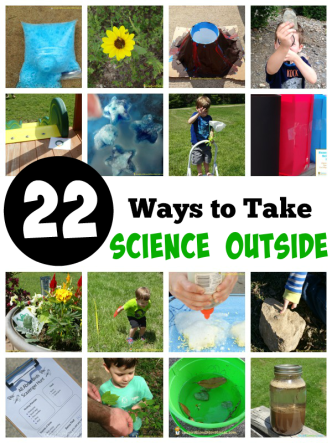 22 Ways to take science outside