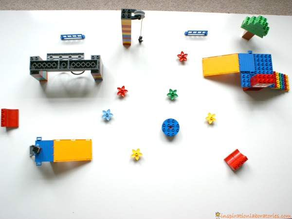 Build a LEGO playground with DUPLO