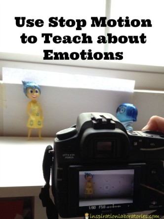 Use Stop Motion to Teach about Emotions