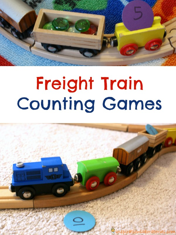 Freight Train Counting Games