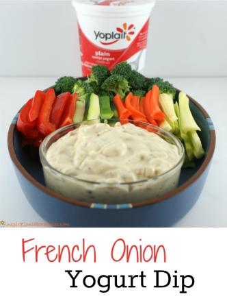 French Onion Yogurt Dip