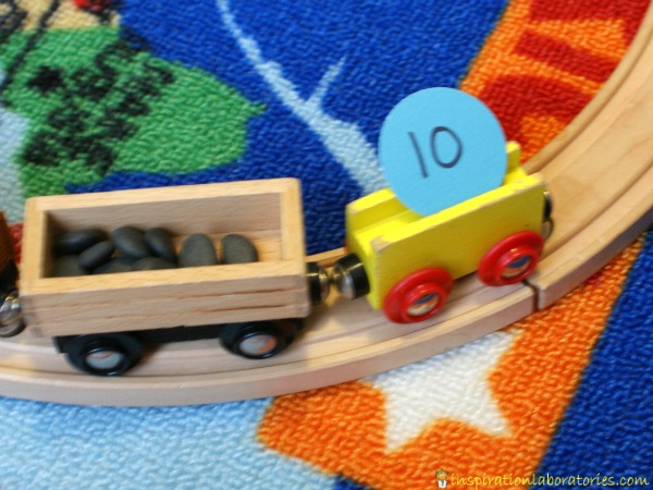 Counting freight number game
