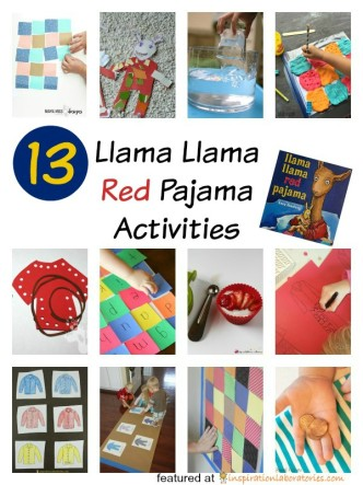 llama llama red pajama activities