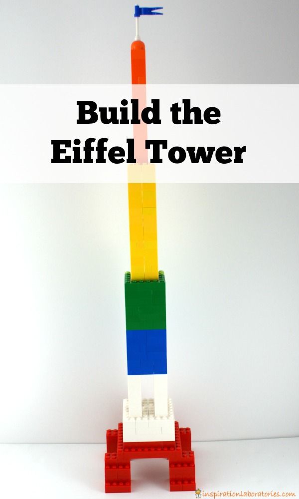 Challenge your kids to build the Eiffel Tower.