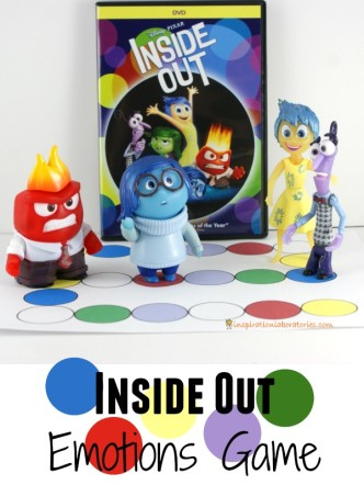 Play the Inside Out Emotions Game sponsored by #InsideOutEmotions. Download the free printable board game today!