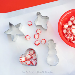 Peppermint Ornaments from Left Brain Craft Brain