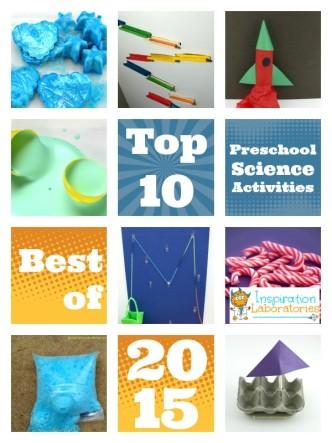 Top 10 preschool science activities of 2015 at Inspiration Laboratories