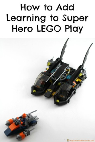 How to Add Learning to Super Hero LEGO Play