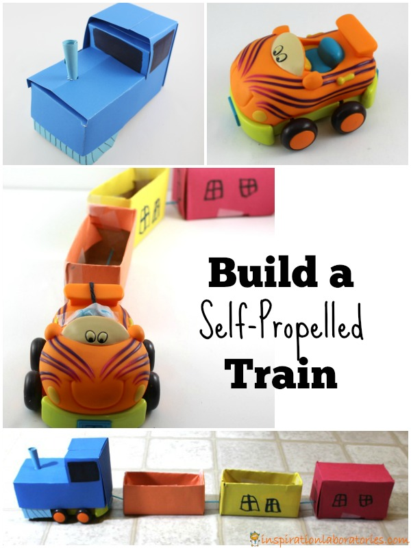 Build a self-propelled train