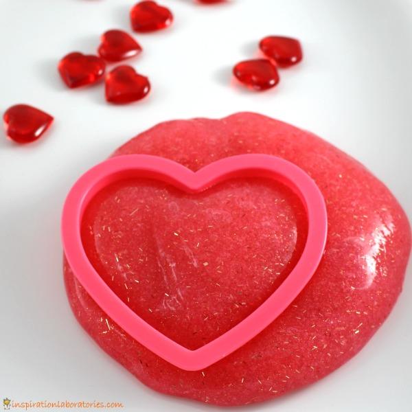 Valentine's Day Glitter Slime
