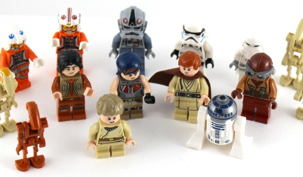 Star Wars minfigures