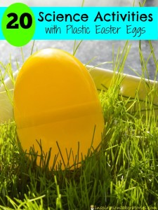 Use plastic Easter eggs in these fun science activities for kids.