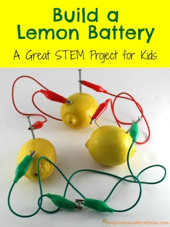 Did you know that lemons and other fruit can power a light bulb or a clock? Learn how to make your own lemon battery in this post sponsored by GreenWorks. #NaturalPotential