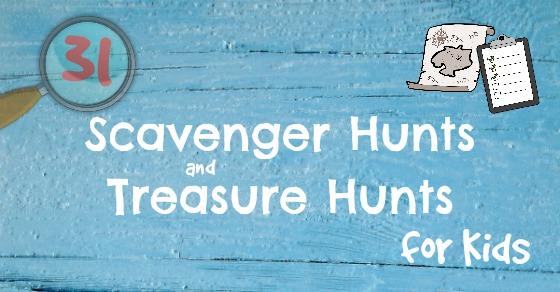 31 Scavenger Hunts fb