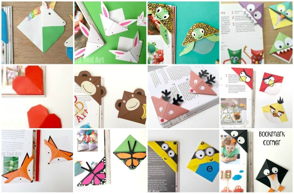 corner bookmark designs